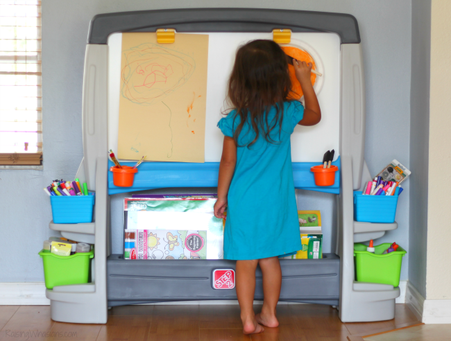 Step2 art easel review