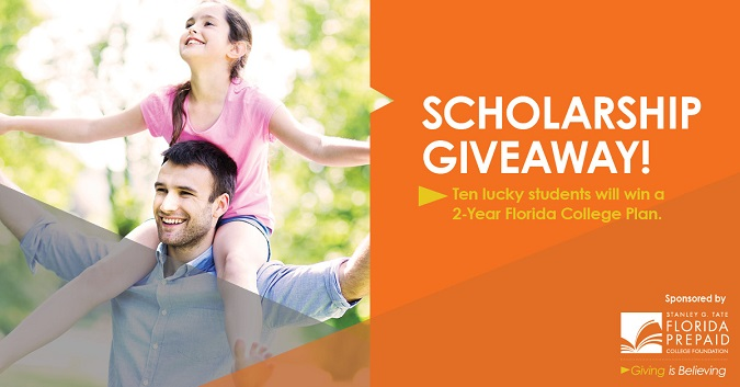2016 Florida prepaid scholarship giveaway