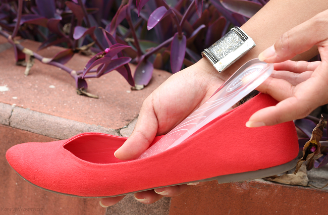Amope flat shoes insoles