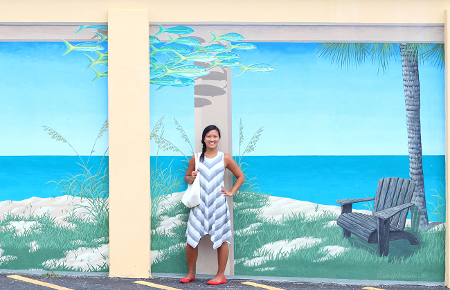 Cocoa beach art murals
