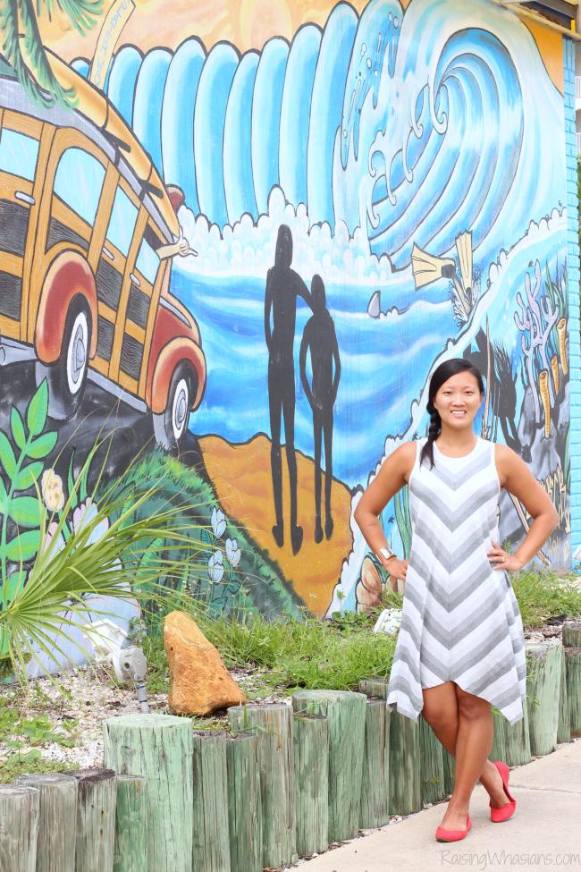 Cocoa beach murals
