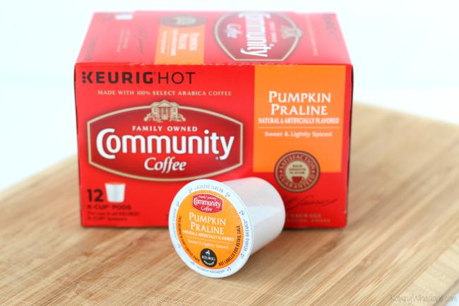 Community coffee pumpkin praline review