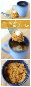 Easy microwave pumpkin mug cake pinterest