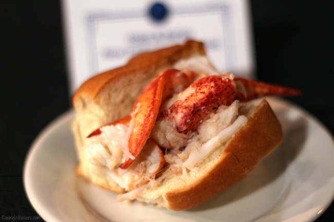 Epcot lobster roll