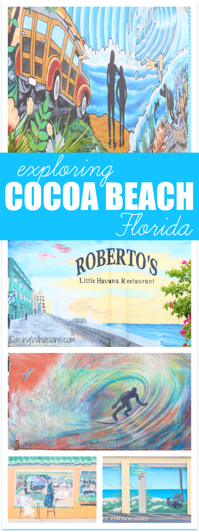 exploring Cocoa Beach art murals