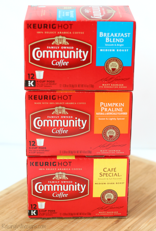 Fall community coffee giveaway