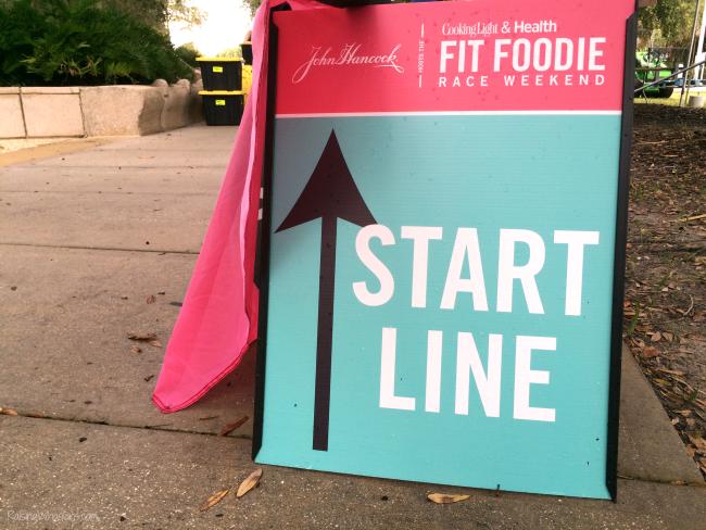 Fit foodie start line
