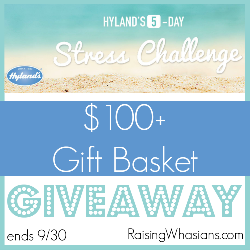 Hyland's stress challenge giveaway