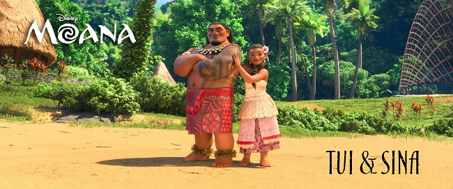 Moana parents