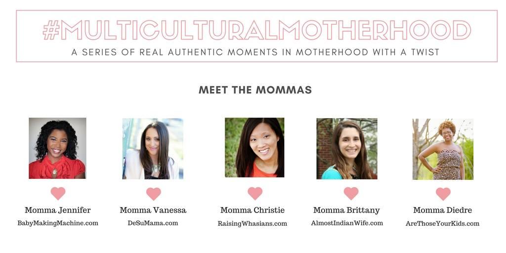 Multicultural motherhood series