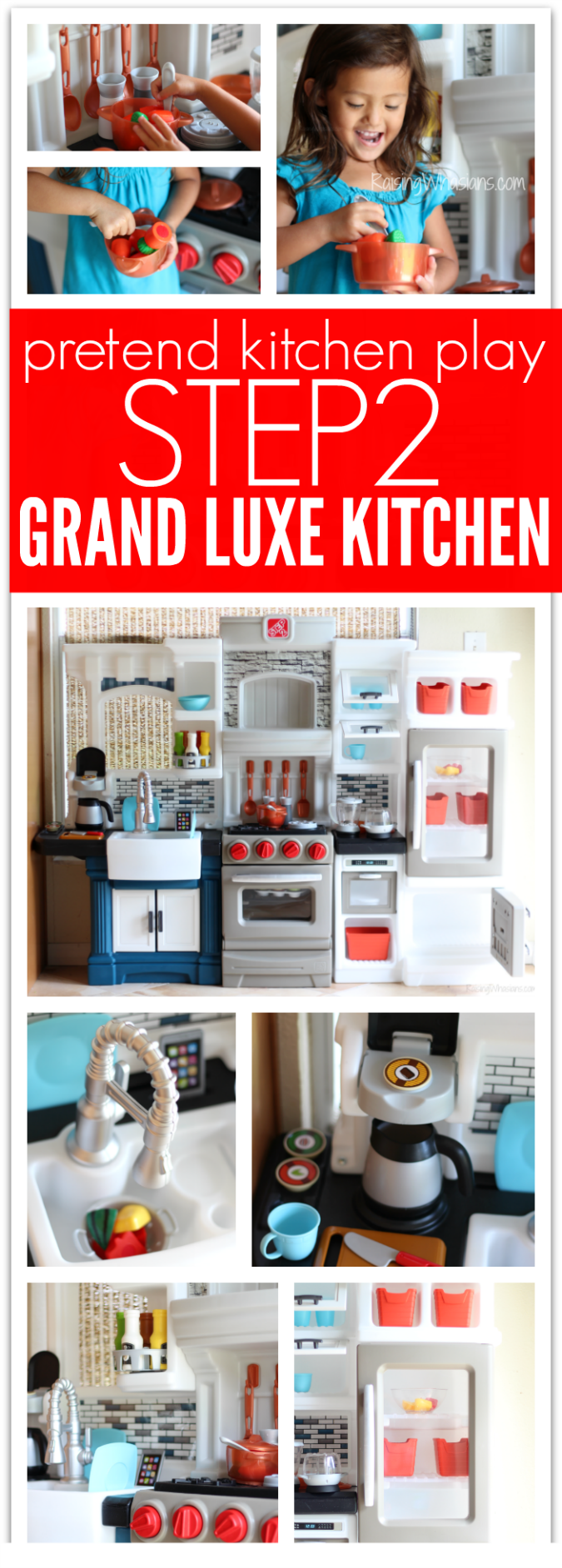 Step2 grand luxe kitchen pinterest