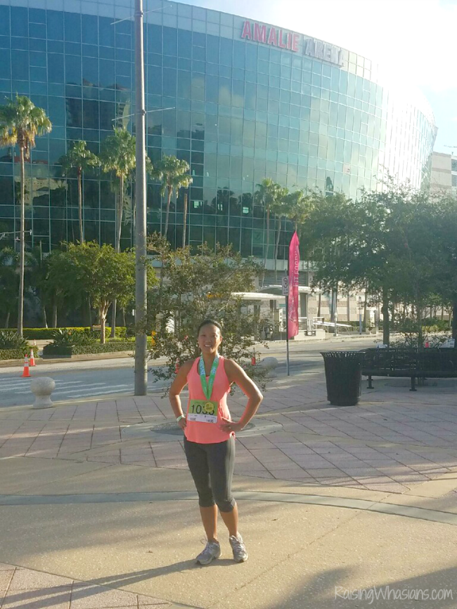 Tampa fit foodie race