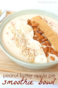 Fall smoothie bowl recipe