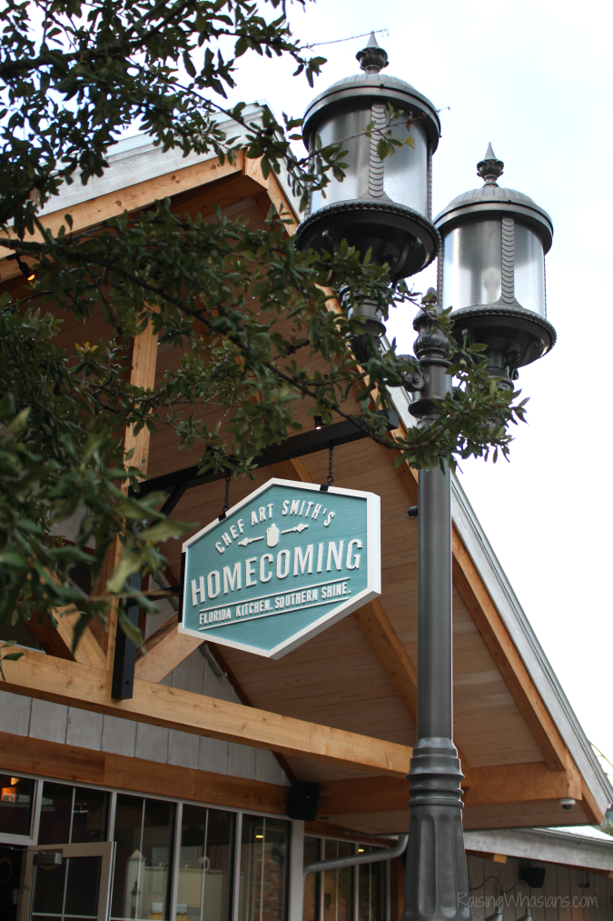 Disney springs homecoming kitchen review