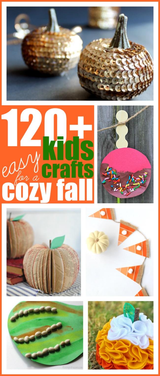 Fall craft ideas for kids list