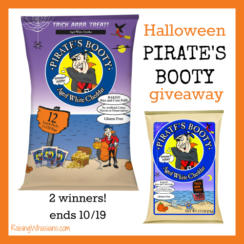 Halloween pirate's booty giveaway