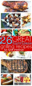 Hurricane grilling recipes
