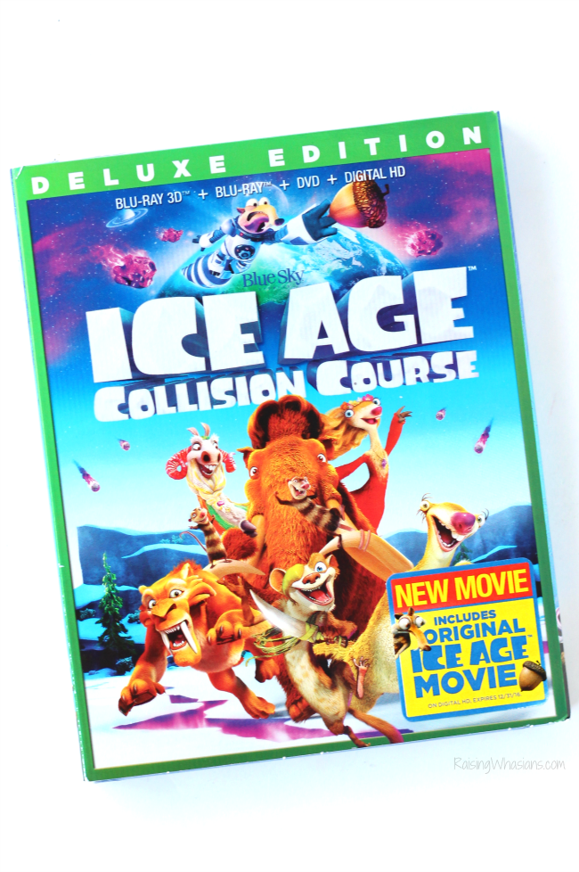 Ice age collision course blu-ray release