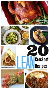 Lean slow cooker recipes