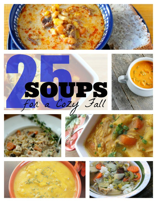 Soup recipe round up