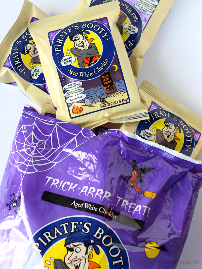 Trick-or-treat with limited edition Halloween pirate's booty