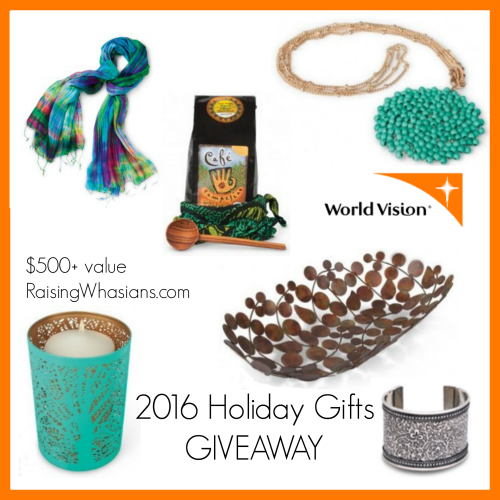 World vision holiday giveaway 2016