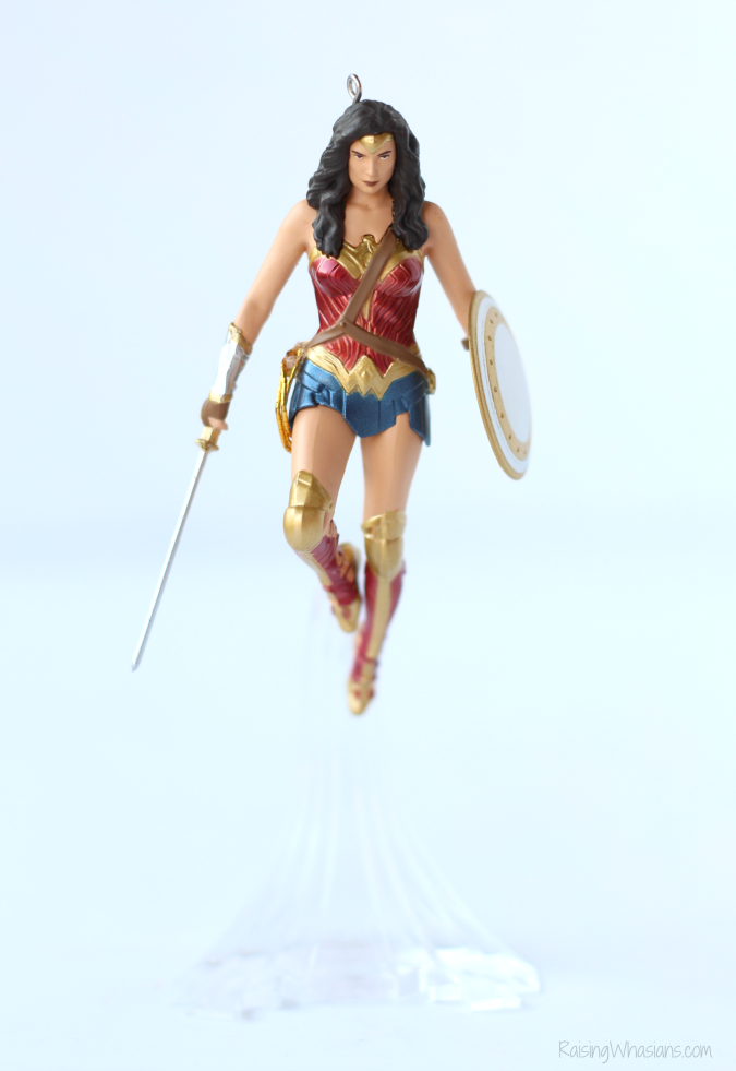 2016 wonder woman ornament hallmark
