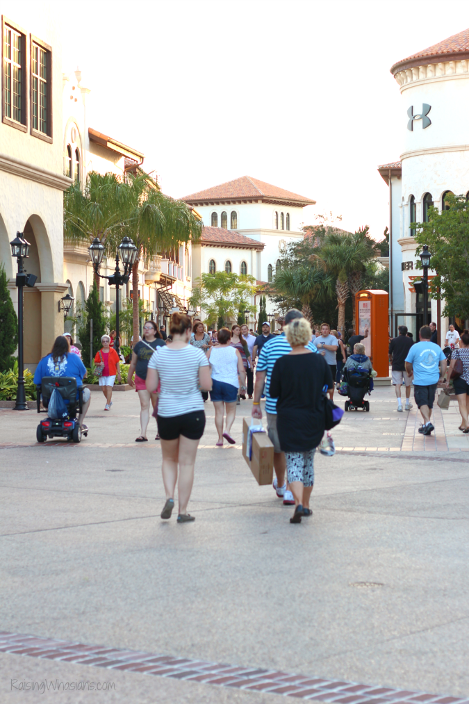Disney springs shopping tips