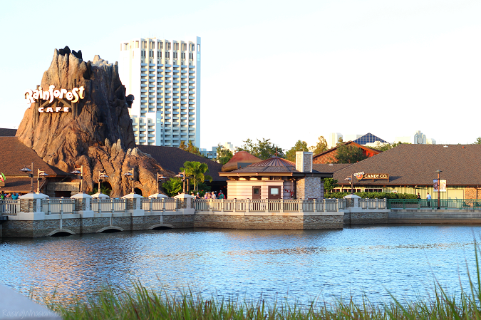 Disney springs travel tips families