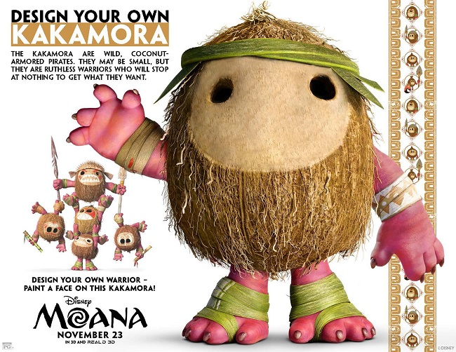 FREE Printable Moana Coloring Sheets Kids Activities Moana