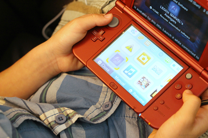Nintendo portable game system review for parents