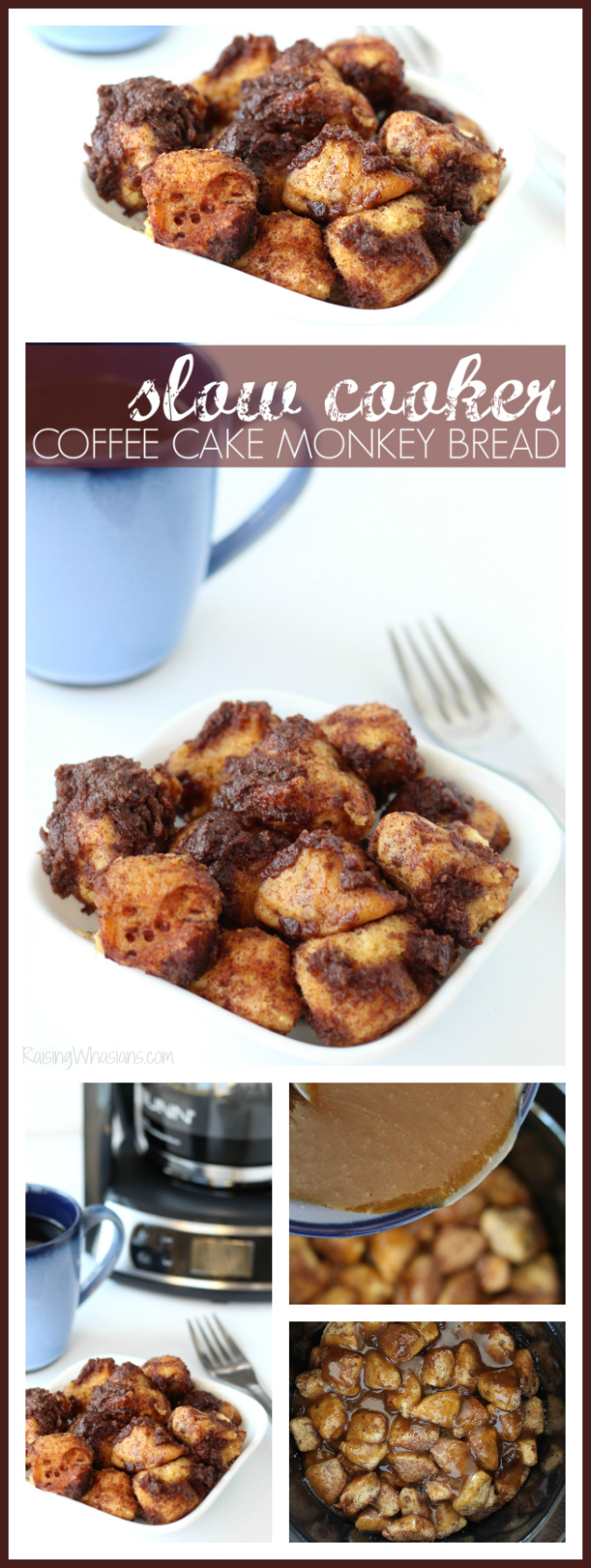 Slow cooker coffee cake monkey bread pinterest