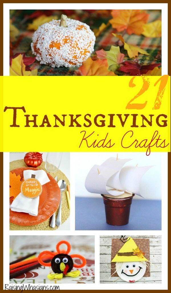 Thanksgiving kids crafts list