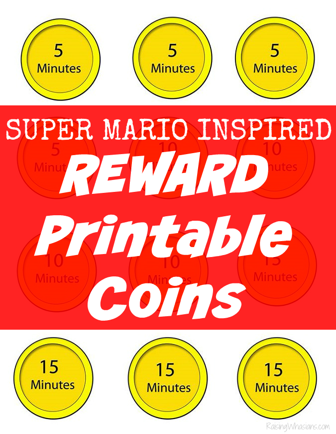 Video game printable rewards