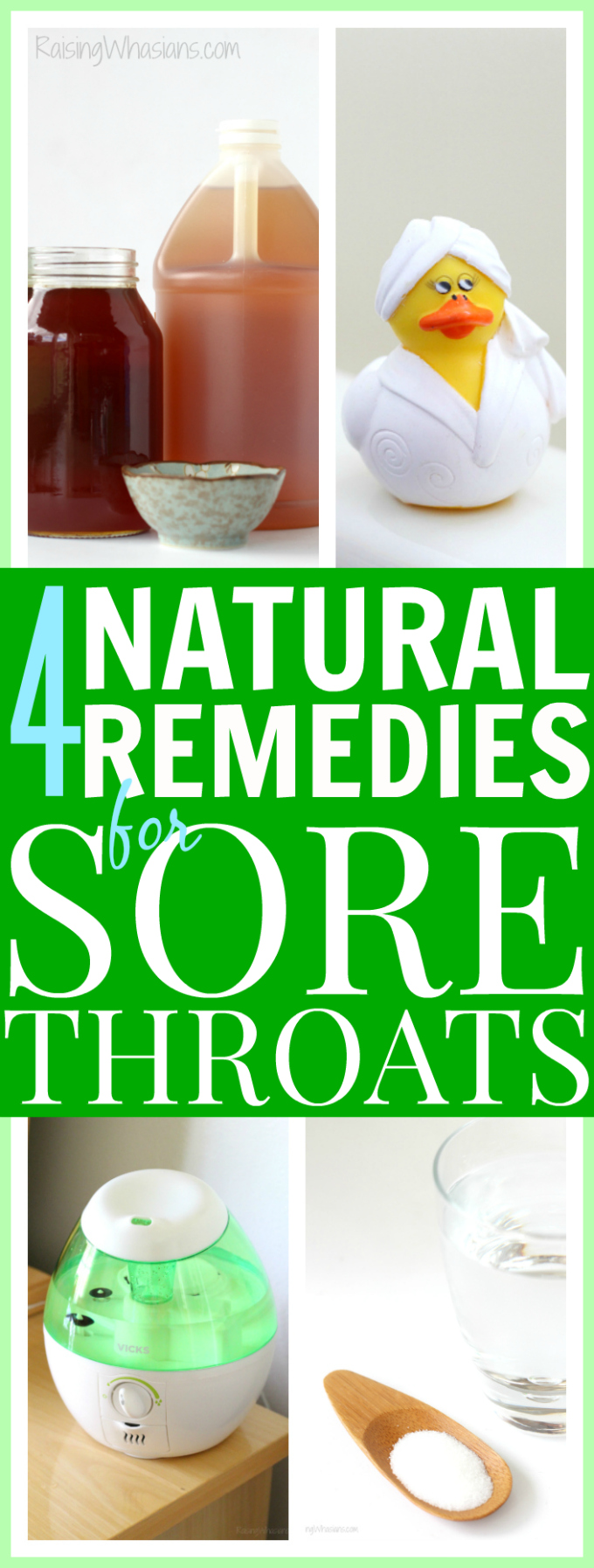 Ways to naturally ease a sore throat