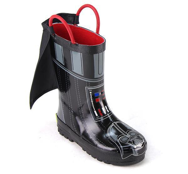 Darth vader rain boots giveaway