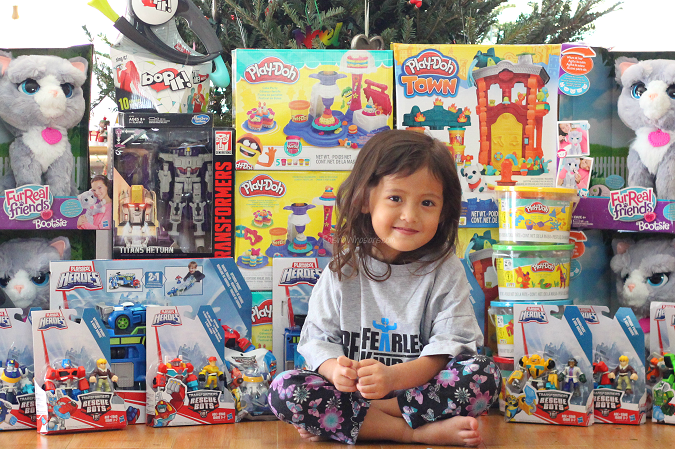 Giving back with our Hasbro joy maker challenge
