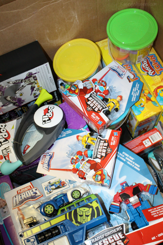 Hasbro toy donation 2016