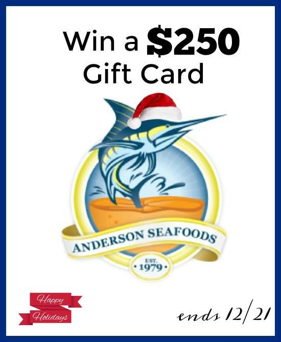 Holiday entertaining with Anderson seafoods