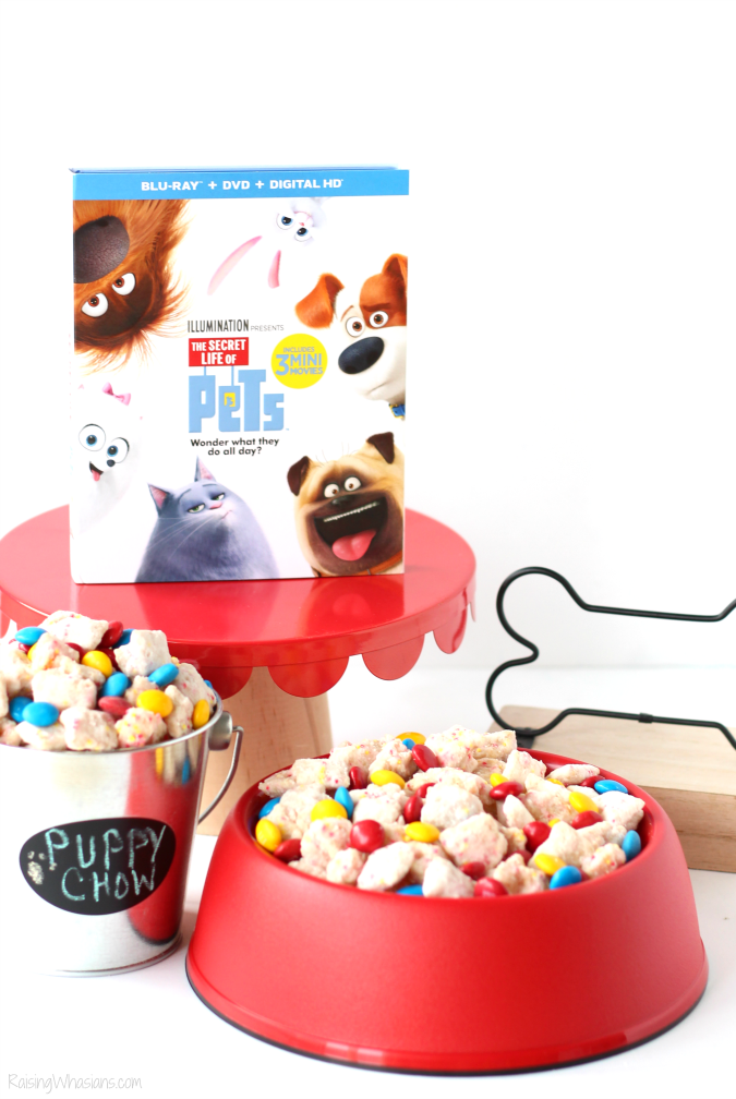 The secret life of pets party food