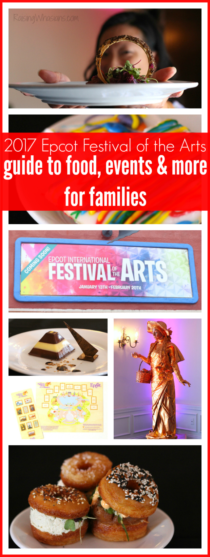 2017 Epcot festival of the arts pinterest