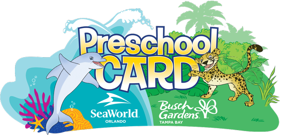 2017 SeaWorld preschool card free