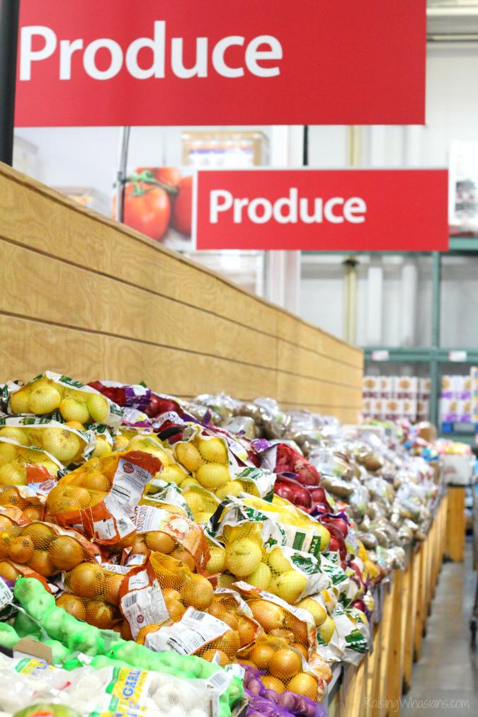 BJs organic produce savings