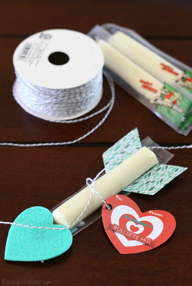 Free cupid arrow printable valentine