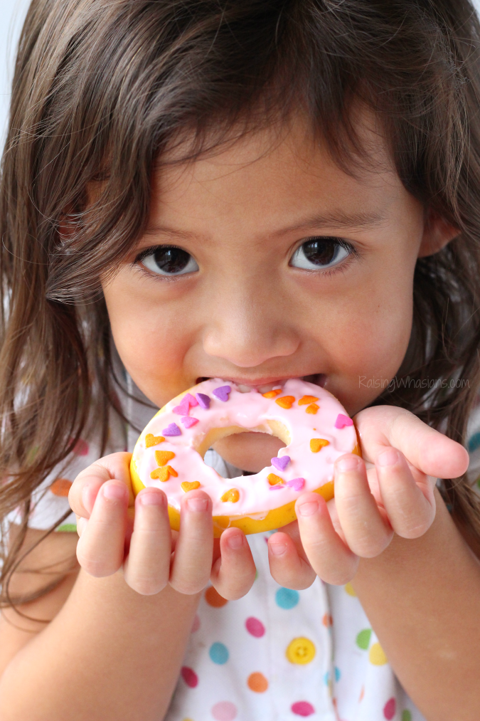 Healthy doughnuts kids snacks