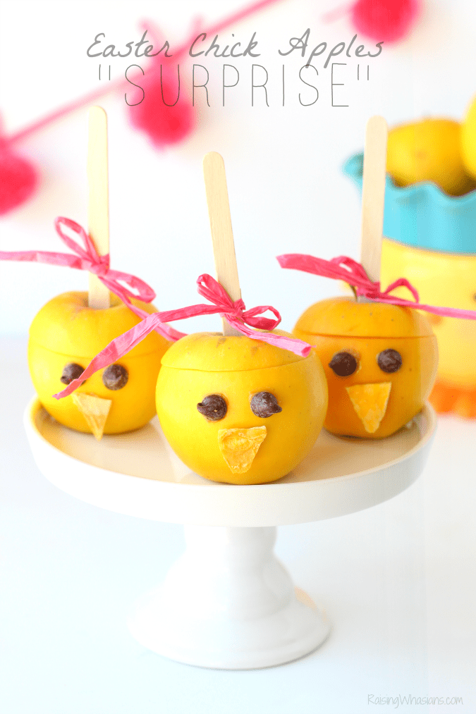 c8ede6abdc Easter Chick Apples
