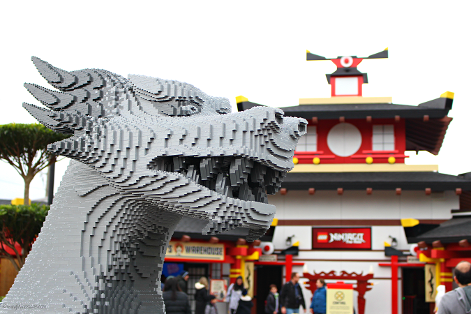 Ninjago tips Legoland Florida
