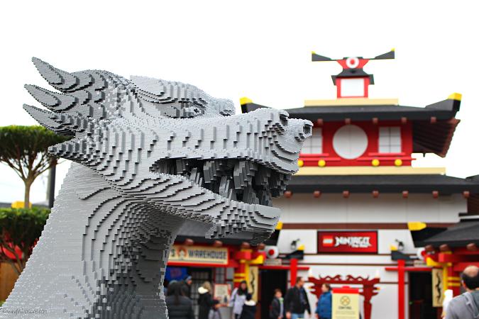 Ninjago tips Legoland Florida