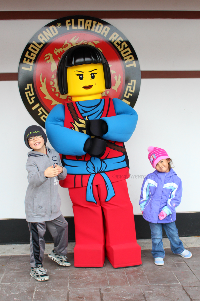 Ninjago world character meet and greet