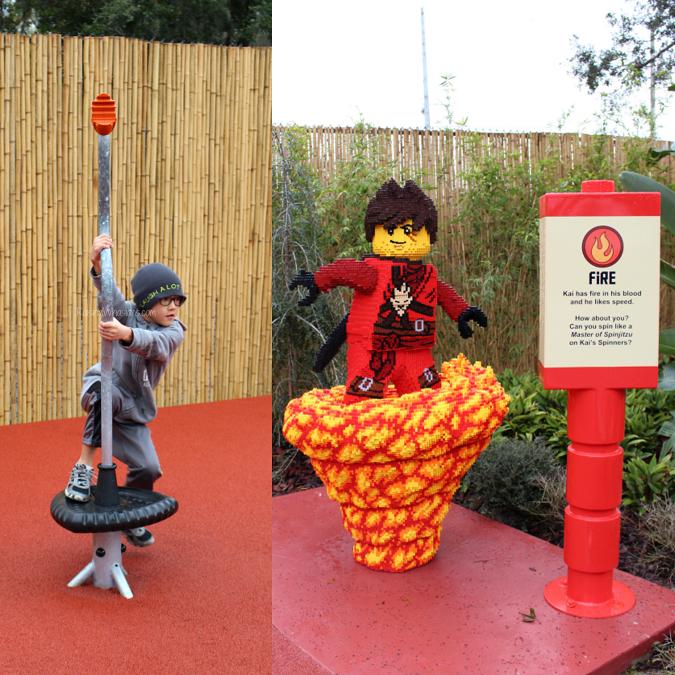 Ninjago world tips Legoland Florida
